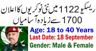 Rescue 1122 KPK Jobs September 2019   1750+ Vacancies by PTS Application Form Download