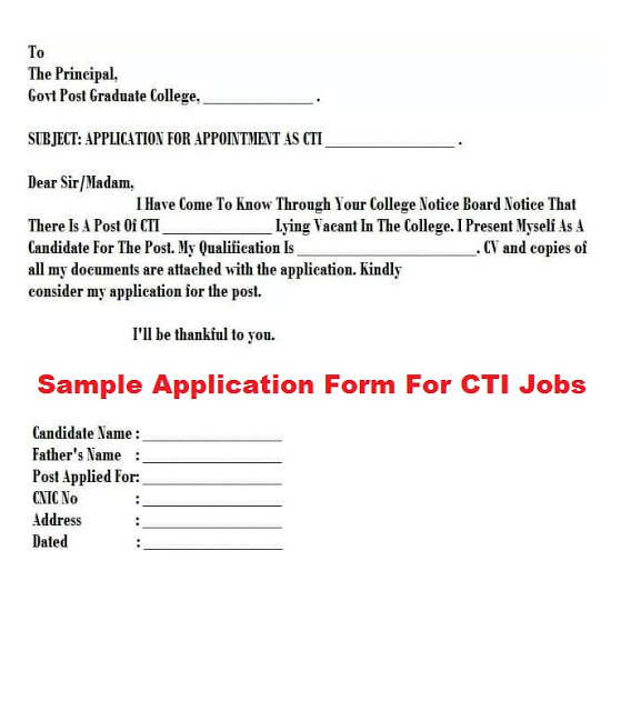 CTI jobs in Punjab 2021 For Lecturer (3000+ Vacancies) for Male & Female