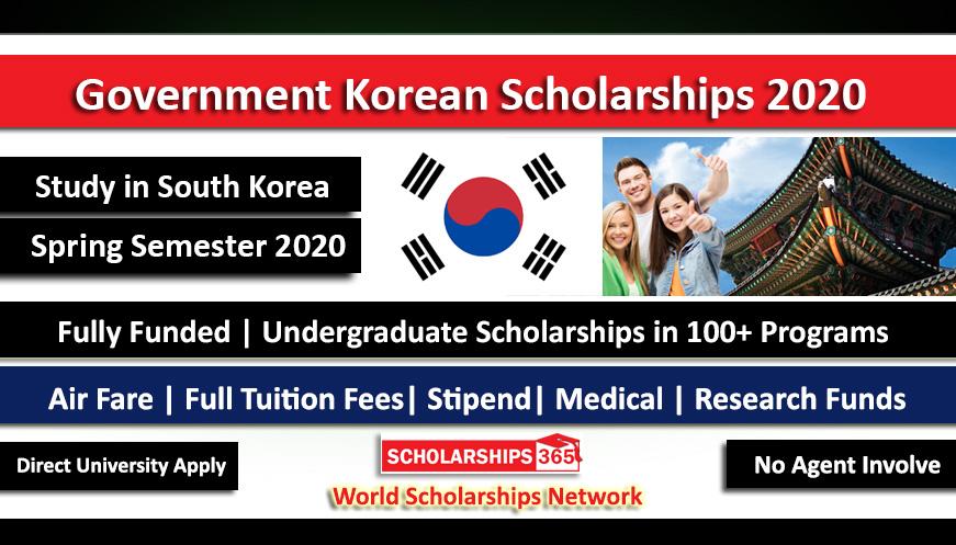 Korean Government Scholarship 2020