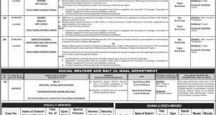 PPSC Jobs 2019 in Specialized Healthcare & Medical Education Department
