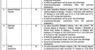 Daanish Schools Jobs September 2019 | Latest Teaching Vacancies