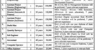 TDCP Lahore Jobs 2019