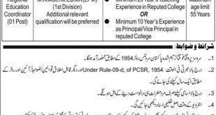 Lahore Cantonment Board LCB Jobs 2020