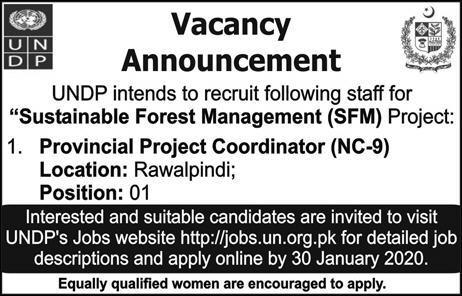 United Nations Development Programme Islamabad Jobs 2020