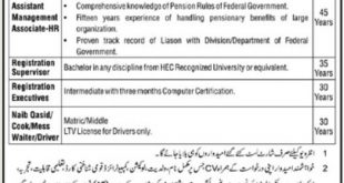 PO Box No 2545 Islamabad Jobs 2020 for Assistant Management Associates
