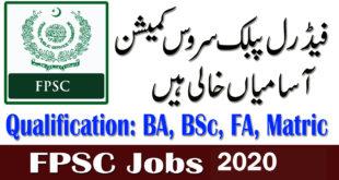 FPSC Jobs February 2020