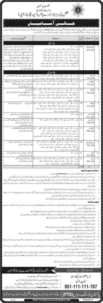 National Highway and Motorway Police Jobs 2021
