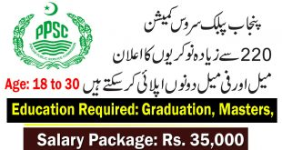 PPSC Jobs 2020 For for Assistant