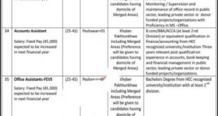ETEA Jobs in KPK 2020