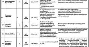 Healthcare Department Punjab Jobs 2020