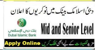 Dubai Islamic Bank Pakistan Jobs 2020