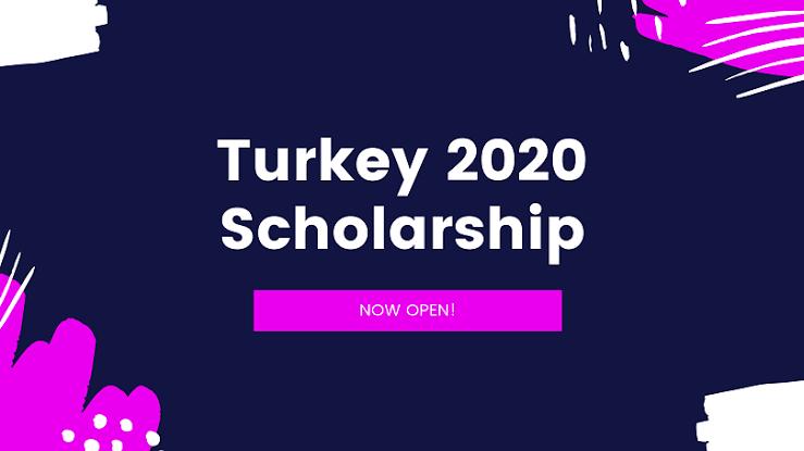 Turkiye Burslari Scholarship 2020