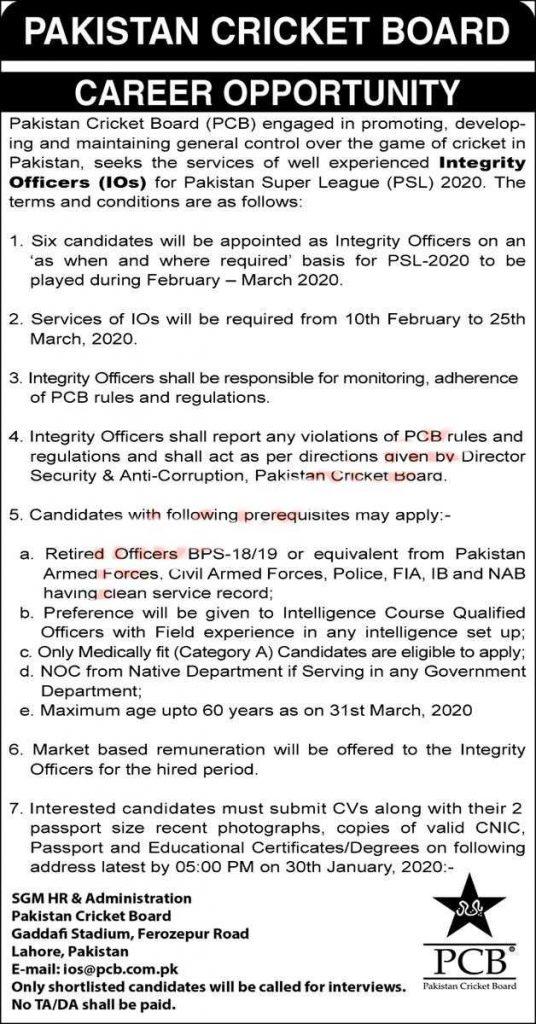PCB Jobs 2020