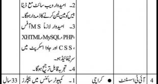 PO Box NO 616 GPO Karachi Jobs 2020