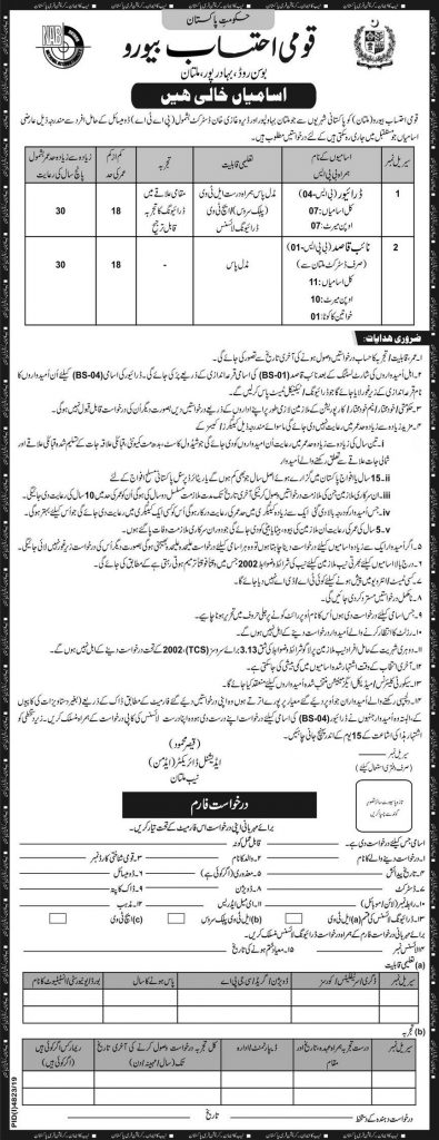 NAB Jobs 2020 for 18+ Drivers