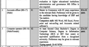 Higher Education Archives Libraries Department KPK Jobs 2020