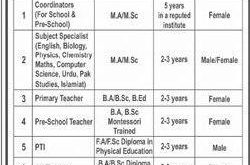 The Educators Peshawar Jobs 2020