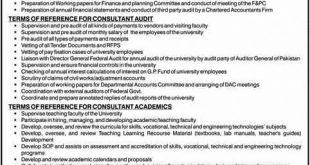 NSU Islamabad Jobs 2020