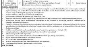 TMA Peshawar Jobs 2020