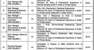 WASA LDA Lahore Jobs 2020