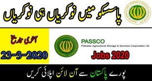 PASSCO Jobs 2020