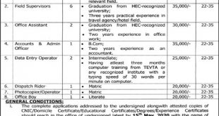 Tourism Department Punjab Jobs 2020