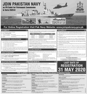 Pak Navy Jobs 2020