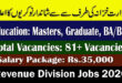Revenue Division Islamabad Jobs 2020