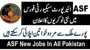 ASF Jobs 2020 By FPSC