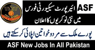 ASF Jobs 2020 By FPSC
