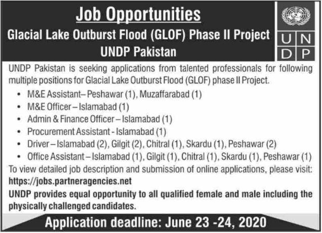 UNDP Jobs June 2020