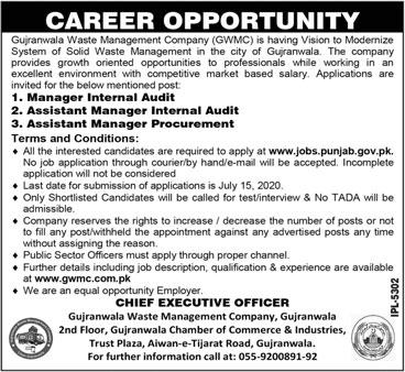GWMC Jobs June 2020