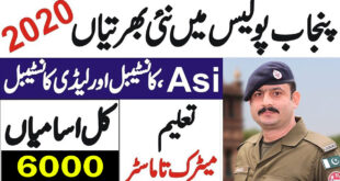 Punjab Police Jobs June 2020