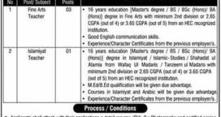 Daanish School Jobs July 2020