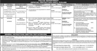 PPSC New Jobs Advertisement 2020