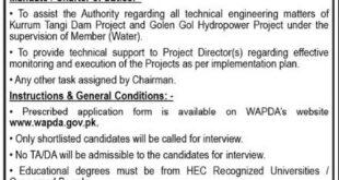 WAPDA Jobs September 2020