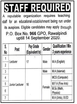 Po Box No 966 Jobs September 2020