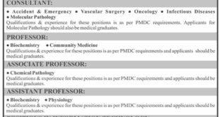 Liaquat National Hospital And Medical College Jobs September 2020