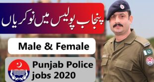 Punjab Police Jobs October 2020