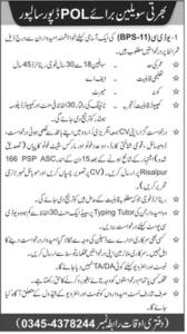 POL Depot Jobs October 2020