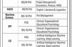 Bahria University Jobs 2020