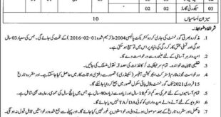 Education Department Kasur Jobs 2021