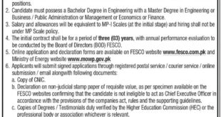 FESCO Jobs 2021