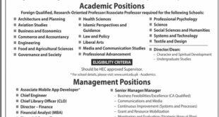 UMT Jobs 2021