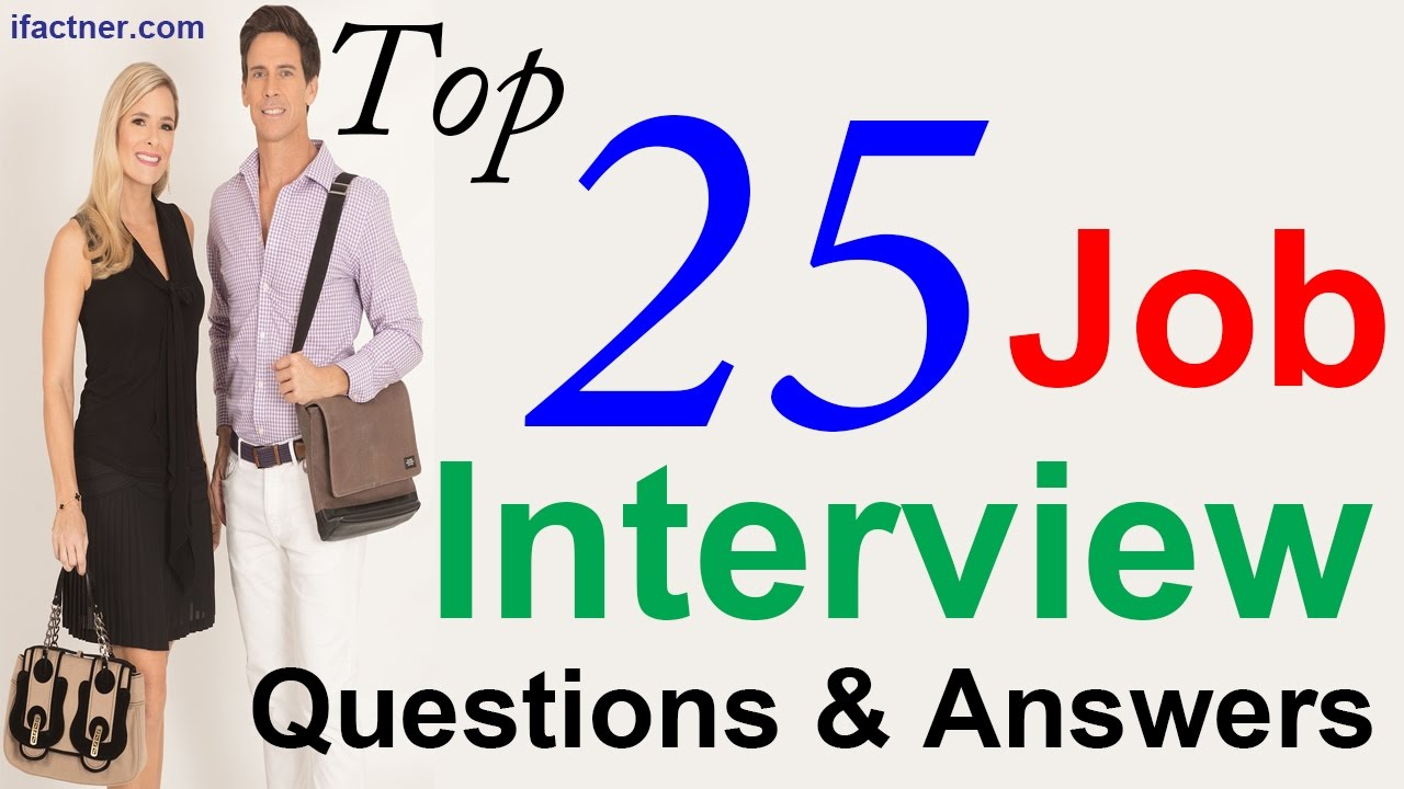 Top 15 Job Interview Questions and Answers