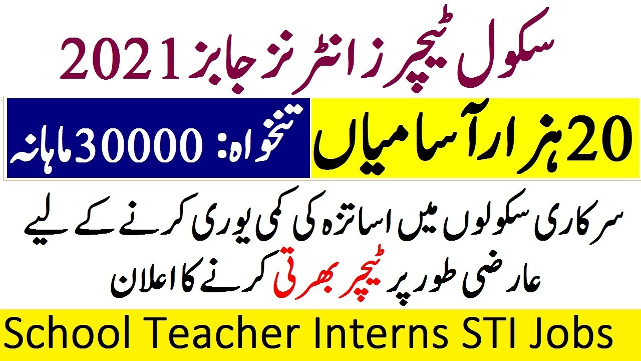STI Jobs In Punjab 2021