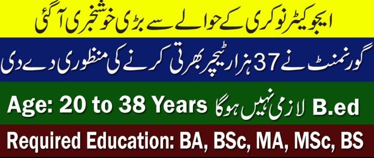 Educator Jobs in Punjab 2021